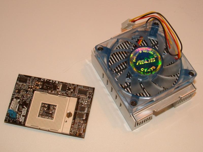 ASUS CT-479 Sockel-Adapter für Pentium M