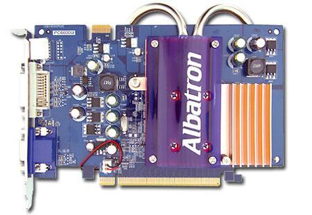 Albatron PC6600U (Vorderseite)
