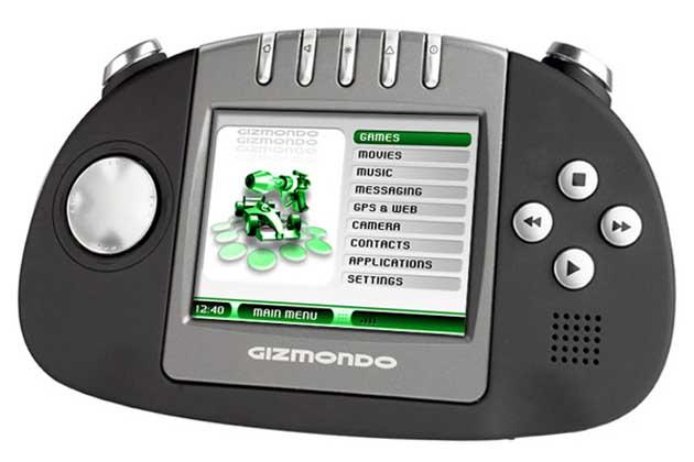 Gizmondo Spielekonsole