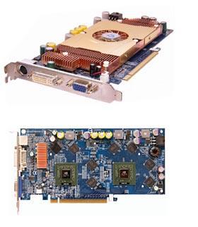 Gigabyte 3D1-XL Dual-GF6600 Grafikkarte