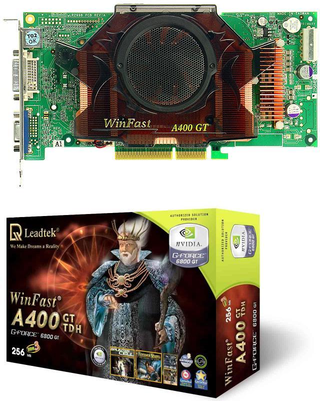 Leadtek WinFast A400GT TDH 256MB (6800 GT)