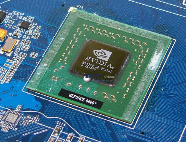 NV42 Grafikchip (für GeForce 6800 PCI Express)