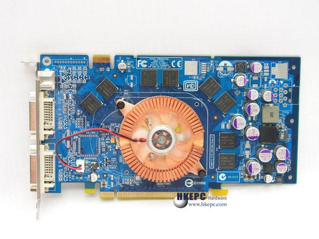 Galaxy GeForce 6800 PCIe mit NV42 Grafikchip