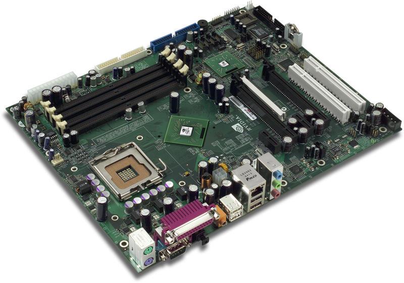 Mainboard mit nForce4 SLI Intel Edition