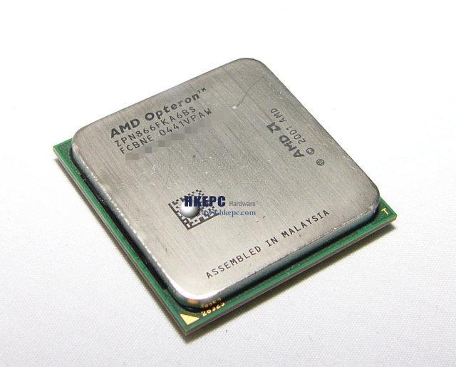 Angebliches Bild eines Dual-Core Opteron (von HKEPC)