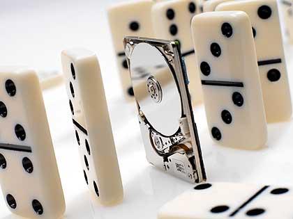Faszinierende Technik: Miniatur-Festplatten