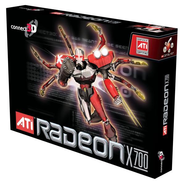Connect3D Radeon X700 AGP Box