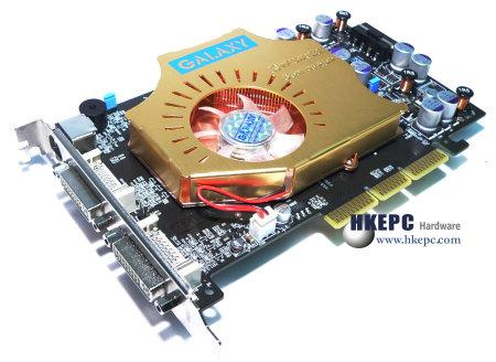 Galaxy GeForce 6600 GT AGP Sondermodell