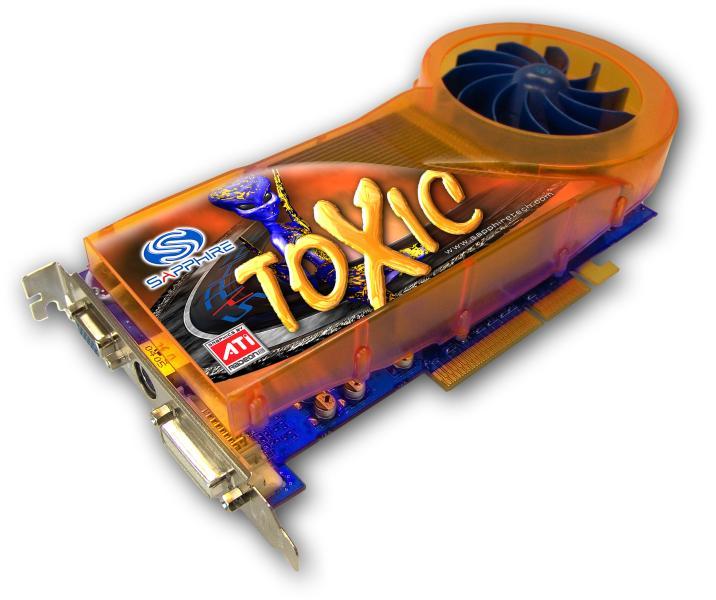 Sapphire Radeon X800 Pro 256MB ViVo Toxic