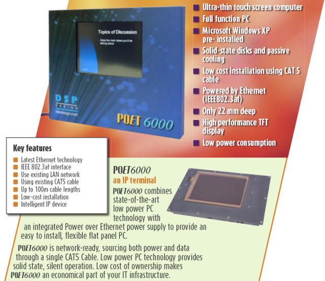 DSP Design Poet6000