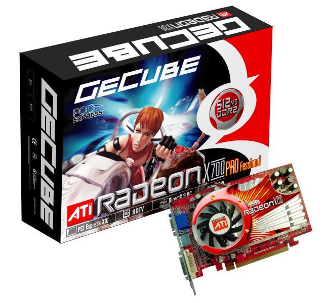 GeCube Radeon X700 Professional