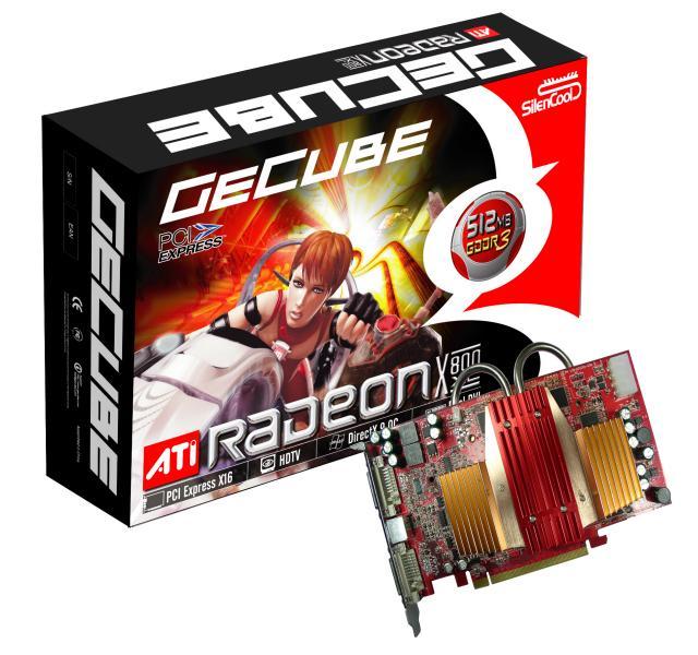 GeCube Radeon X800XL 512MB SilenCool