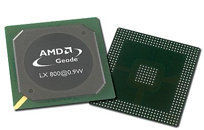 AMD Geode LX 800@0,9W