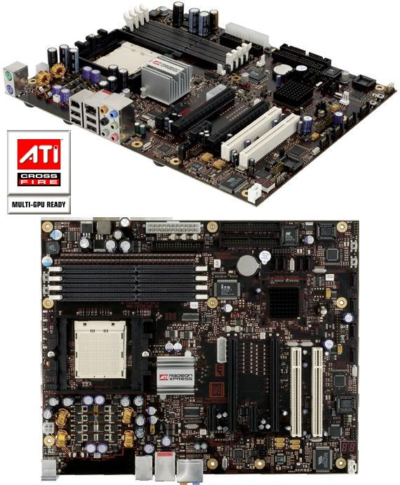Radeon Xpress 200 CrossFire Edition Mainboard für AMD CPUs (RD480)