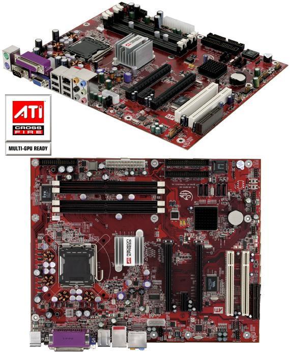 Radeon Xpress 200 CrossFire Edition Mainboard für Intel CPUs (RD400)