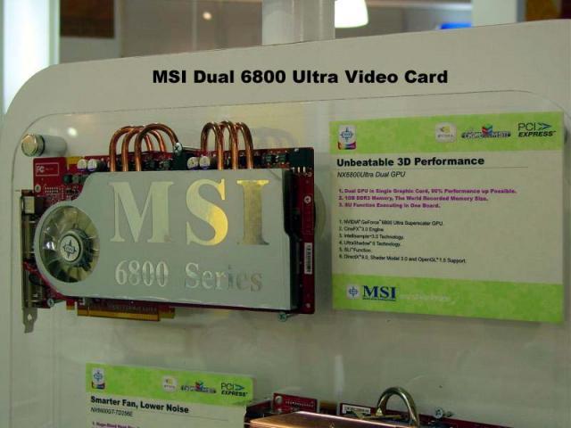 MSI NX6800Ultra Dual-GPU