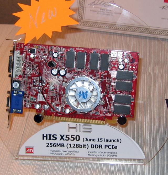 HIS Radeon X550