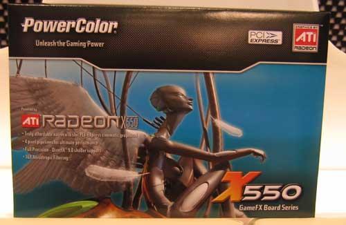 PowerColor Radeon X550