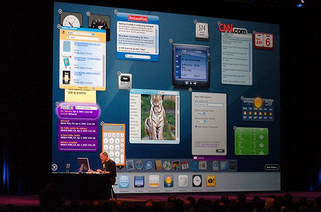Demo des Mac/Intel-Systems