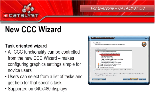 Catalyst Control Center Wizard