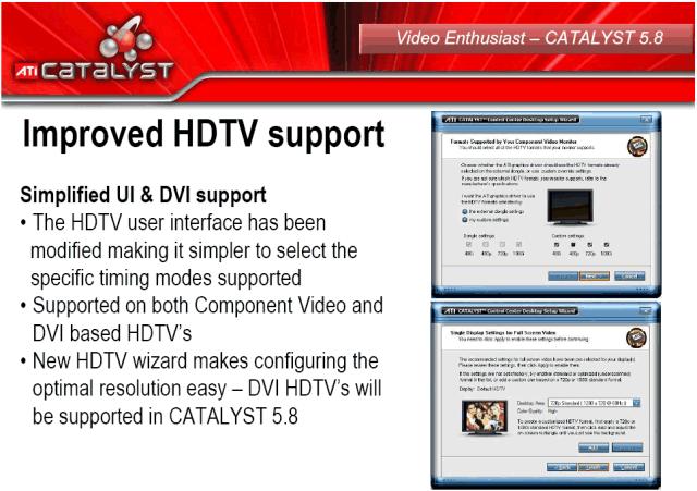 Verbesserte HDTV-Unterstützung