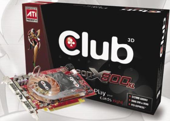 Club3D Radeon X800 XL 512MB