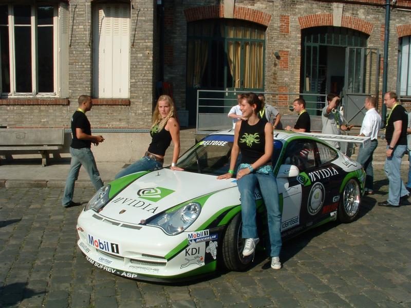 nVidia ist Sponsor eines französischen Racing-Teams