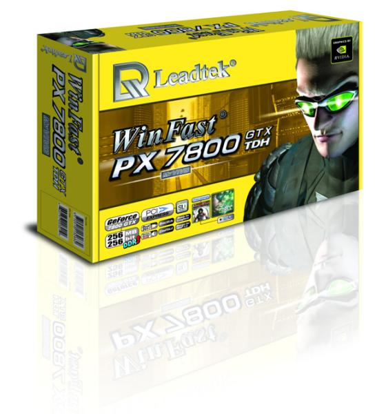 Leadtek WinFast PX7800 GTX Box