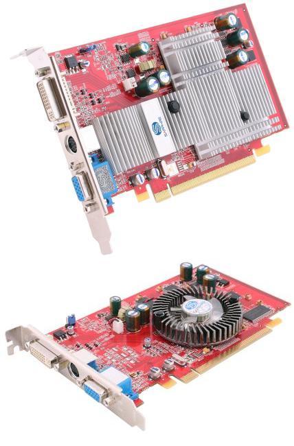 Aktiv und passiv gekühlte Sapphire Radeon X550 Grafikkarten