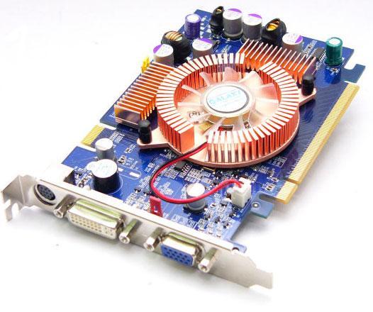 GeForce 6600LE Grafikkarte mit SLI-Anschluss