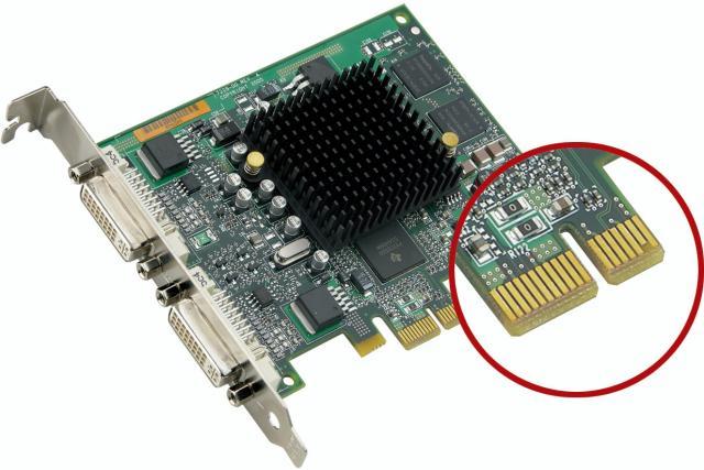 Matrox Millennium G550 PCIe