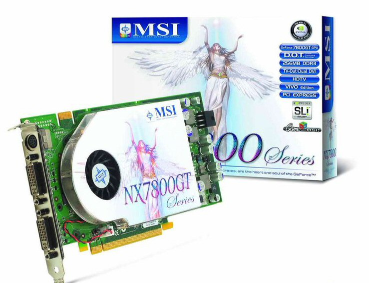 MSI GeForce 7800 GT