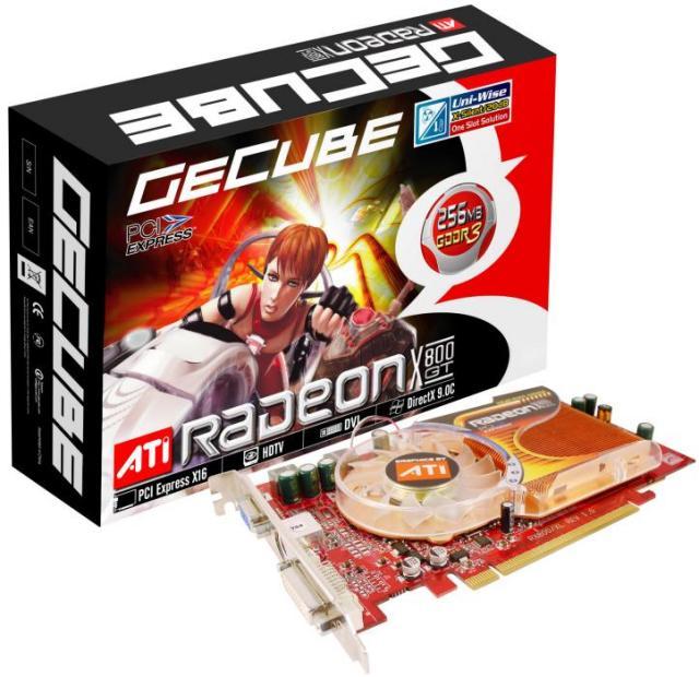 GeCube Radeon X800 GT