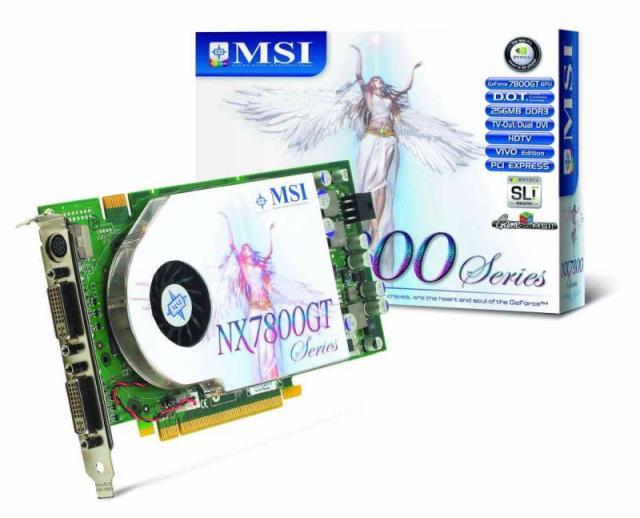 MSI NX7800GT-VT2D256E
