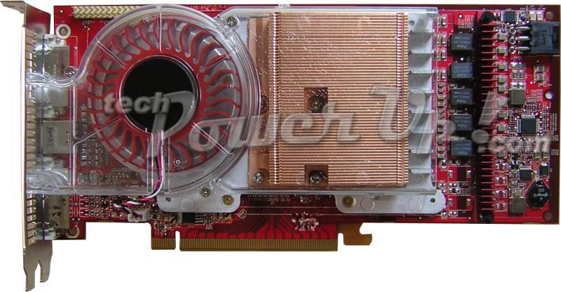 ATI Radeon X1800 XT Frontseite (Bild von techpowerup.com)