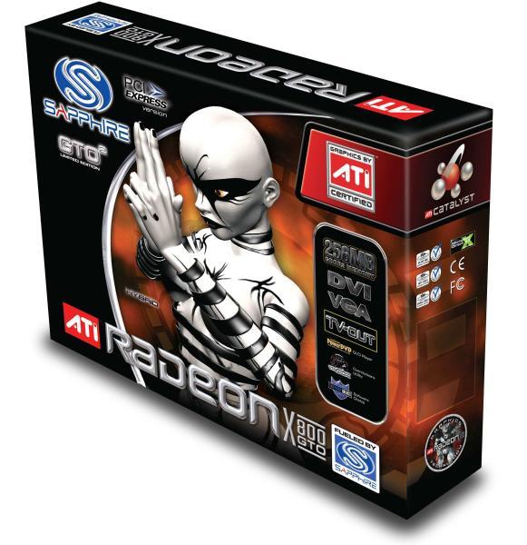 Sapphire Radeon X800 GTO² Box