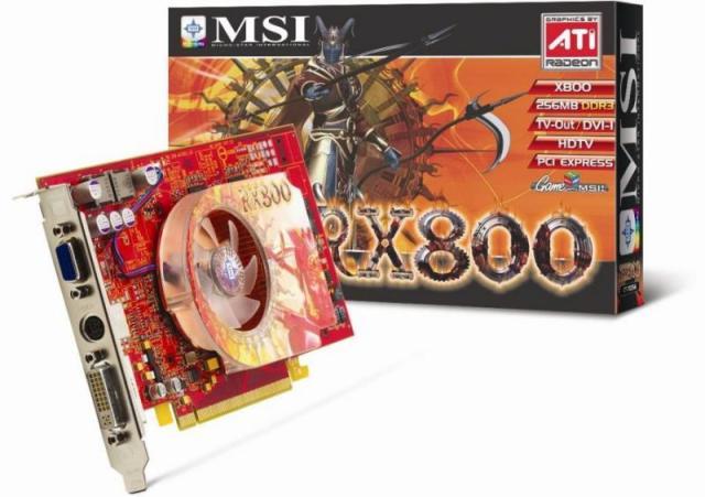 MSI RX800-TD256E