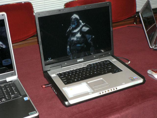 Dell Notebook mit GeForce Go 7800 GTX