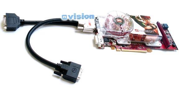 Radeon X1800 XT CrossFire mit Adapterkabel