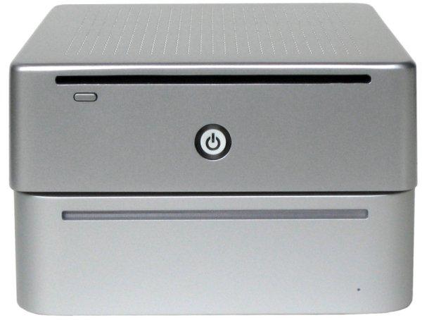 Ein Vergleich MiniPC (oben) und Mac Mini (unten)