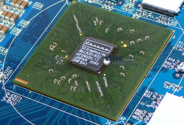 S3 Chrome S27 Grafikchip