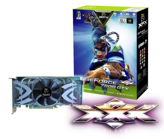 XFX GeForce 7800 GTX 512MB XXX Edition