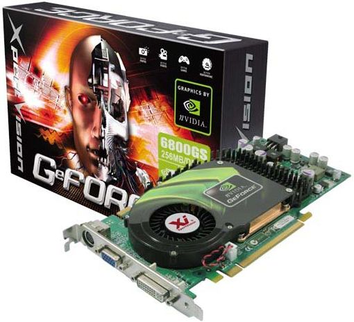 XpertVision GeForce 6800 GS