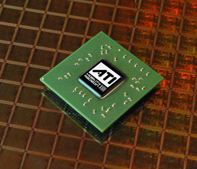 ATI Mobility Radeon X1600 Chip