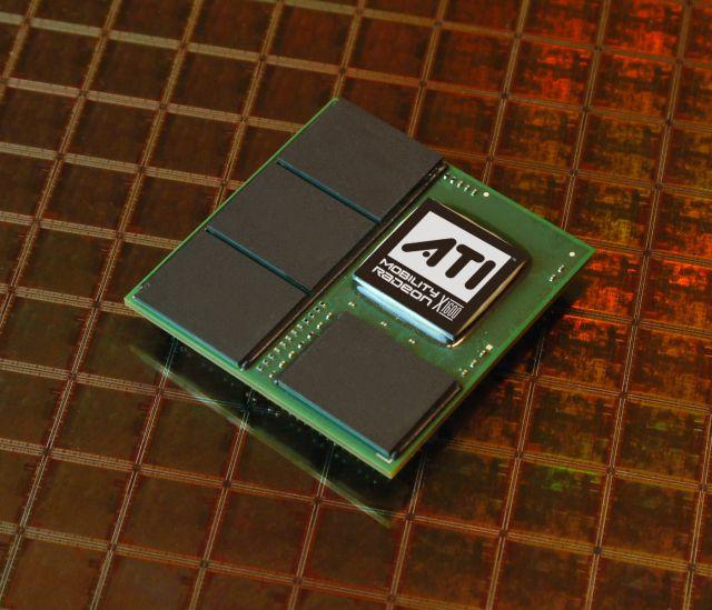 ATI Mobility Radeon X1600 Chip mit 256MB