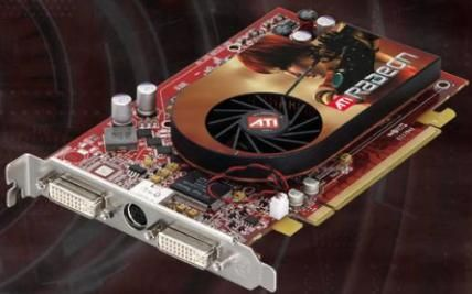 ATI Radeon X1600 PCIe Referenzmodell
