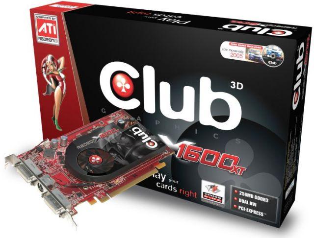 Club3D Radeon X1600 XT