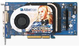 Albatron GeForce 6800 GS AGP
