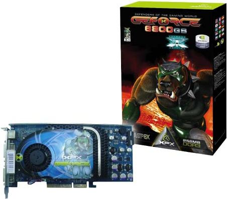 XFX GeForce 6800 GS Extreme Edition für AGP