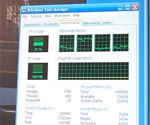 CPU-Last bei Decodierung eines VC1 Codec (WMV HD)